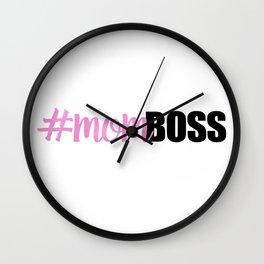 #momboss | Mom Boss Wall Clock