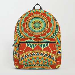 Mandala of Happyness, Health and Wealth Backpack