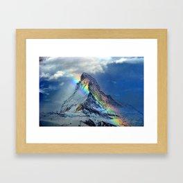 Matterhorne Framed Art Print