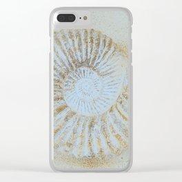 Ammonites Clear iPhone Case