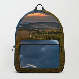 Sunset at Toscany Backpack