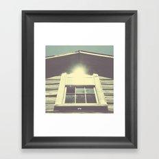 Dilapidation. Framed Art Print