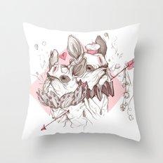 Puppycakes Throw Pillow