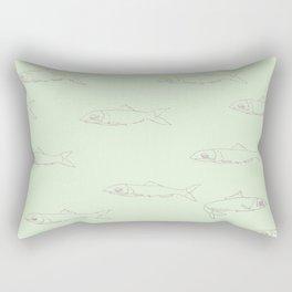 Anchovies Rectangular Pillow