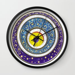 Evil Eye Wall Clock