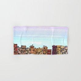 New York Purple Sky Hand & Bath Towel