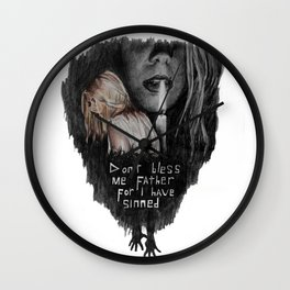 Going To Hell Wall Clock