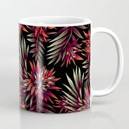 Aechmea Fasciata - Dark Orange / Purple Coffee Mug