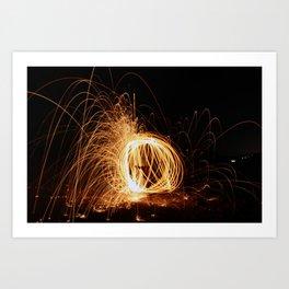 Sphere of Light Art Print