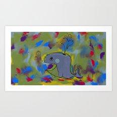 Whaley Art Print
