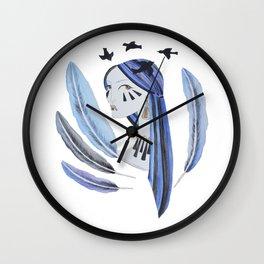 Black Birds Wall Clock