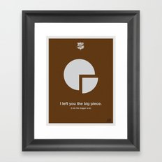 Big Piece Framed Art Print
