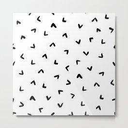 Little Arrow Pattern Metal Print
