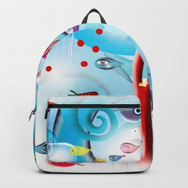 Reef Underwater Fishes Backpack