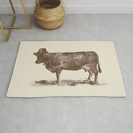 Cow Cow Nuts Rug