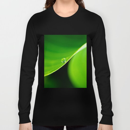 a curve, a drop Long Sleeve T-shirt