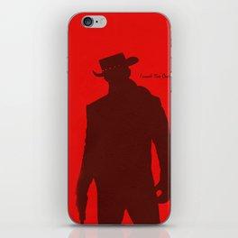 Vector Django Unchained iPhone Skin