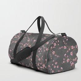 SAKURA LOVE - GRUNGE BLACK Duffle Bag