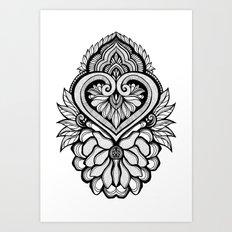 Sacred Flora Art Print