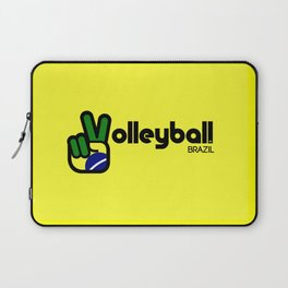 Volleyball Brazil Laptop Sleeve