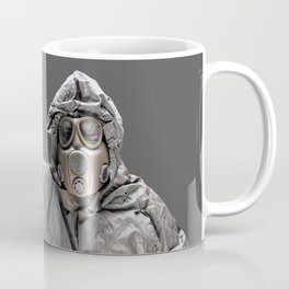 Protection Suit And Gas Mask Coffee Mug