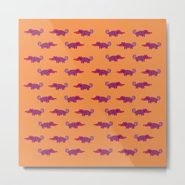 Alligator Alebrijes Metal Print