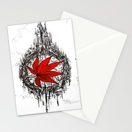 Tribe Maple Stationery Cards