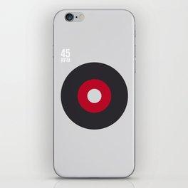45 RPM iPhone Skin