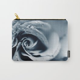 Rose - powder blue Carry-All Pouch