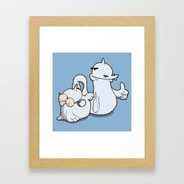 Pokémon - Number 86 & 87 Framed Art Print