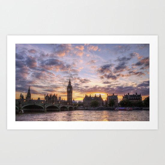 The City of Westminster Art Print