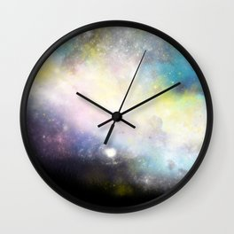 Nebula: Skyward Wall Clock