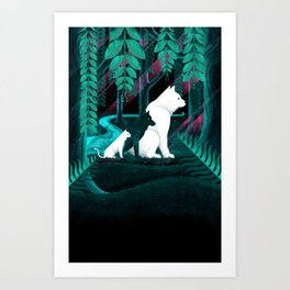 Geo Trio Art Print