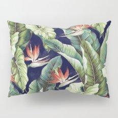 Night tropical garden II Pillow Sham