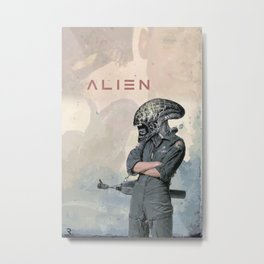 Alien (1979) Movie Poster Metal Print