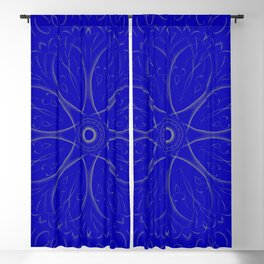 Blue Dreams Blackout Curtain