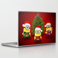 minions Laptop & iPad Skins featuring trending  , trending  games, trending  blanket, trending  duvet cover, trending  shower curtain by ira gora