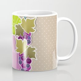 """Picture. The grape juice. From a set of paintings. The """"kitchen"""". Coffee Mug"""