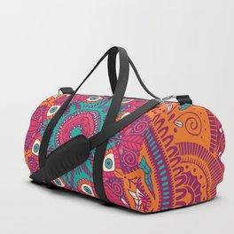 Colorful Mandala Pattern 017 Duffle Bag