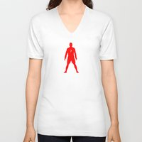 portugal V-neck T-shirts featuring Portugal by Skiller Moves