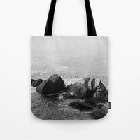 wooden Tote Bags featuring Wooden by North to South