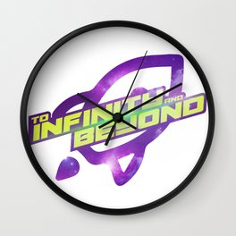 To Infinity and Beyond Wall Clock