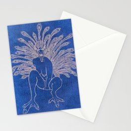 Ms. Peacock II Stationery Cards
