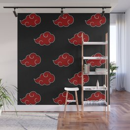 Akatsuki Clouds Full Print Wall Mural