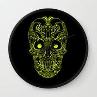 devil Wall Clocks featuring Devil by Littlefox
