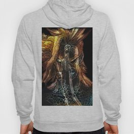 two faces of a hero Hoody