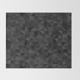 I luv Black Throw Blanket