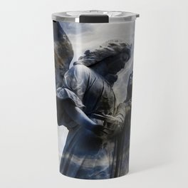Cemetery Angles with Marble Sky Travel Mug