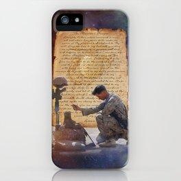The Marine's Prayer iPhone Case