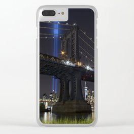 Never Forgotten Clear iPhone Case